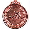 Медаль рельефная БОРЬБА (бронза)