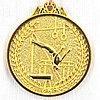 Медаль СПОРТИВНАЯ ГИМНАСТИКА (золото)