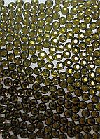Стразы термоклеевые SS 16 № 121 (olive) - 1440 шт.
