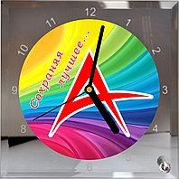 Часы для фото, логотипа, изображения