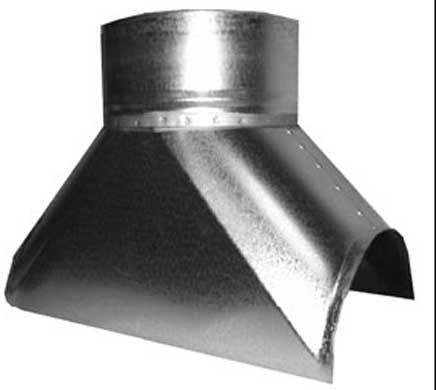 Воздуховод круглого сечения (фасонные части) - фото 2