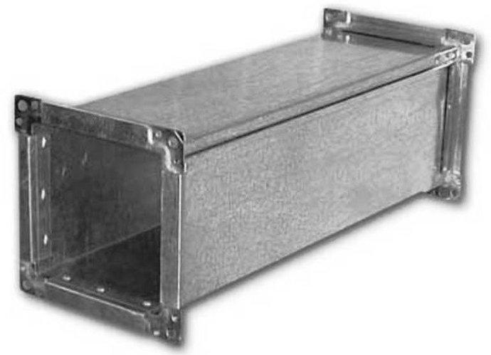 Воздуховод прямоугольного сечения (прямые части)