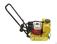 Бензиновая виброплита VPG-70B с баком для воды