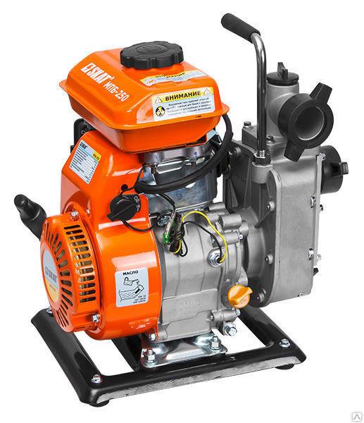 Мотопомпа бензиновая для перекачки чистой воды SKAT  МПБ-250