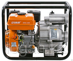 Мотопомпа бензиновая для перекачки загрязненной воды МПБ-1300