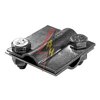 Крестообразное соединение  2xM8x16, две пластины, B do 20 mm, проволка Ø 5-12 mm, серия Silver
