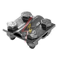 Крестообразное соединение 4xM8x16, две пластины, B do 20 mm, проволка Ø 5-12 mm, серия Silver