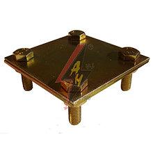 Крестообразное соединение  4xM8x20, две пластины, B do 50 mm, серия Gold