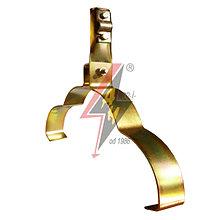 Коньковые держатели H=8 cm, проволока Ø 5-10 mm, серия Gold