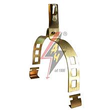 Коньковые держатели H=8 cm, проволока Ø 5-8 mm, шир. 20 cm, выс. 13,5 cm, серия Gold