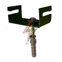 Держатель, монтирующийся на полосу заземления B до 40 mm, G до 4 mm, серия Platinium