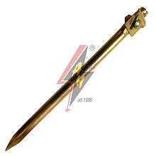 Якорь вбиваемый, Ø 18 mm, с блокадой, L=35 cm, серия Gold