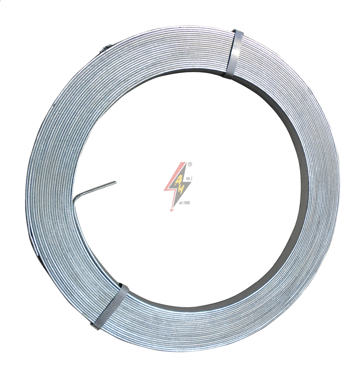 Полоса оцинкованная 40x4 mm стальная горячеоцинкованная, полоса заземления