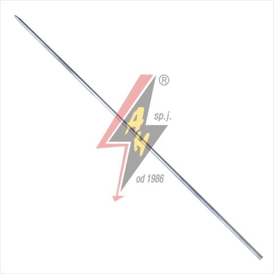 Стержень (заземлитель)  стальной горячеоцинкованный 16x1500 mm
