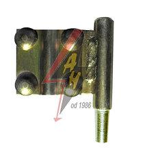 Соединение с крестовым соединителем, 4xM8x20, B=30 mm, Fe/Zn12/C/T2