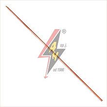 Складной заземлитель - замок конический (Morse'a)/замок цилиндрический Ø 14x1500 mm, 1,8 kg– 100 µm (полного)