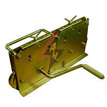 Ручная правильная машина  9 роликов, ручной привод, для проволоки Ø 6-10 mmобода 20x3-30x4 mm