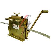 Ручная правильная машина  5 роликов, ручной привод, для проволоки Ø 6-10 mmобода 20x3-30x4 mm