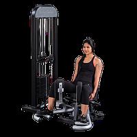 Приведение \ отведение ног сидя с весовым стеком 95 кг  (GIOT-STK)