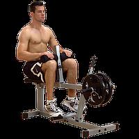 Тренажер голень сидя на свободном весе ф26 POWERLINE  (PSC43X)
