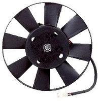 Электровентилятор охлаждения (электродвигатель с крыльчаткой в сборе, 8 лопастей, на подшипнике) для ВАЗ 2103-