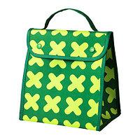 Сумка д/завтраков ЭРФОРДЕРЛИГ зеленый ИКЕА, IKEA, фото 1