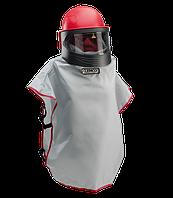 Шлем пескоструйщика Apollo 600 CE с фартуком и регулятором воздуха