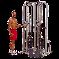 Сдвоенная блочная стойка с двумя весовыми стеками по 105 кг (SDC2000G-2)