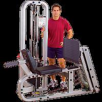 Жим ногами PRO CLUB LINE с весовым стеком 140 кг (SLP500G-3) , фото 1