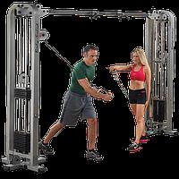 Кроссвер PRO CLUB LINE с двумя весовыми стеками 95 кг (SCC1200G-2)