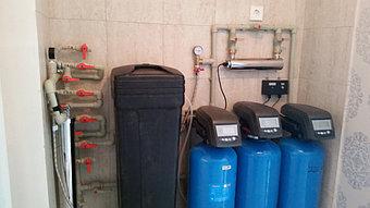 Установки систем очистки воды любой производительности для квартир и коттеджей  1