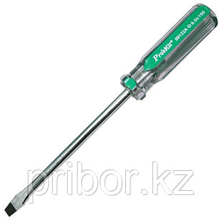 Отвертка шлицевая  -8.0х150мм Pro`skit 89122A
