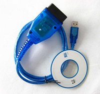 VAG-COM USB KKL Кабель для диагностики AUDI и Volkswagen, фото 1