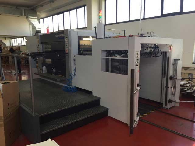 Heidelberg Varimatrix 105 CS - автоматический штанц-пресс, б/у 2010