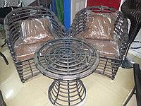 Комплект столик + 2 кресла