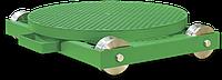 Ручные поворотные столы на тележке с путями