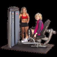 Двухпозиционный тренажер для приводящих \ отводящих мышц бедра с весовым стеком 95 кг (DIOT-SF)