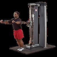 Многофункциональный вертикальный тросовый тренажер с весовым стеком 95 кг (DPCC-SF)