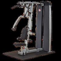 Двухпозиционный тренажер многофункциональный жим и верхняя тяга с весовым стеком 95 кг (DPLS-SF)