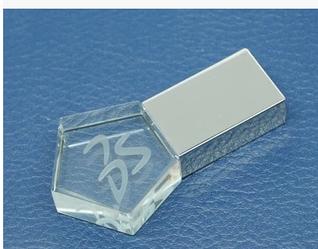 Флешка стекло 4 гб (треугольник)