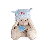 Зайка Ми в голубой шапке с сердечком, фото 1