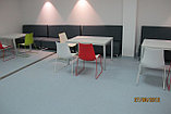 Стол прямой на металле, фото 3