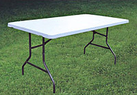Стол с пластиковой столешницей 183*75см, фото 1