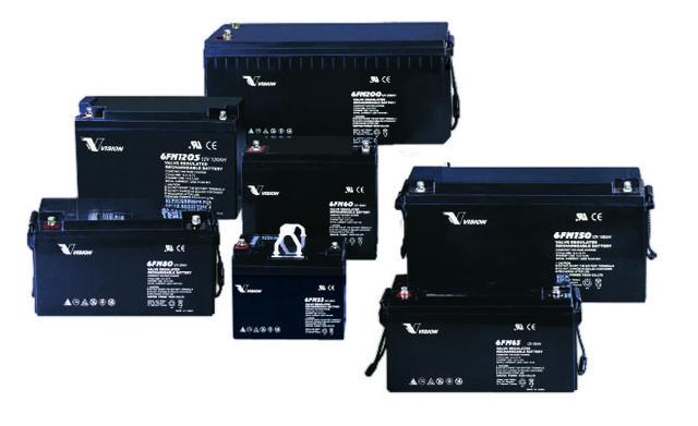Аккумуляторные батареи Vision