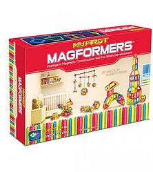 Magformers Магнитный конструктор Набор My First Set из 54 элементов