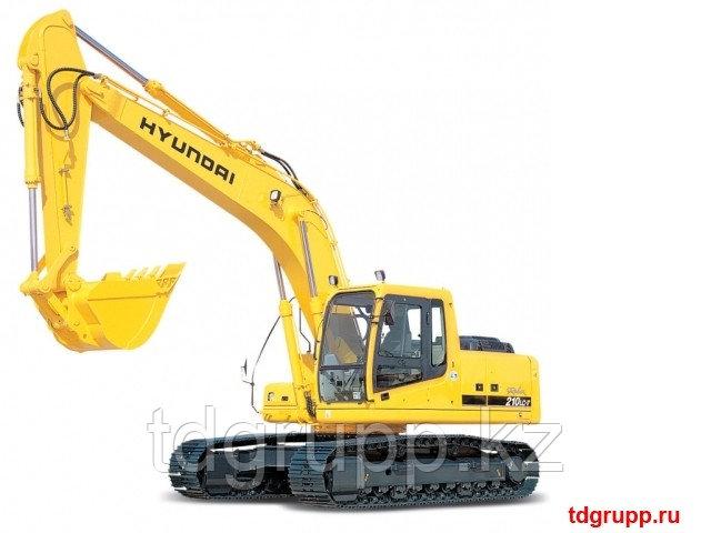 Запчасти на экскаватор Hyundai (Хундай) R210LC-7