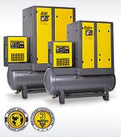 Компрессоры производительностью до 3,6 м3/мин cо встроенным осушителем