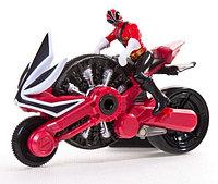 Мотоцикл с Могучим рейнджером фиг. 10см.