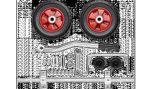 Набор ЗУБР: Колеса и рукоятка для электростанций мощностью свыше 4000Вт
