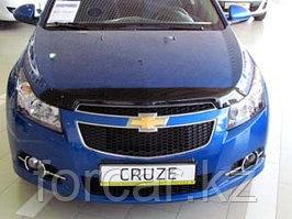 Дефлектор капота SIM для  Cruze 2009-, темный